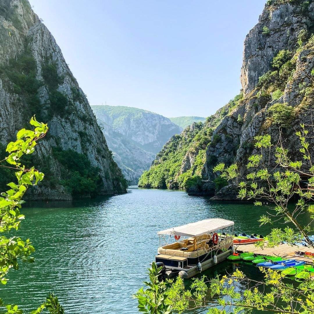 каньон Матка в Македонії