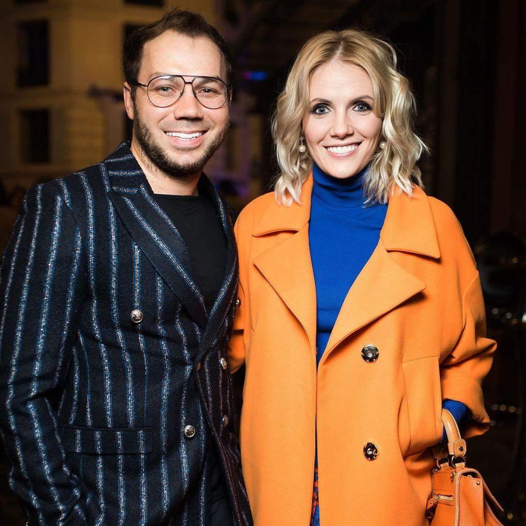 Андре Тан з ексдружиною Аліною Харченко