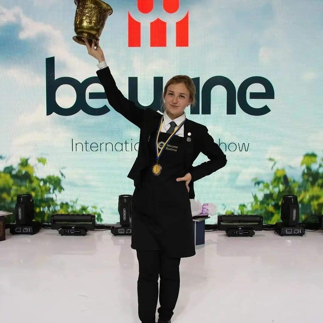 Марина Ревкова, переможниця конкурсу