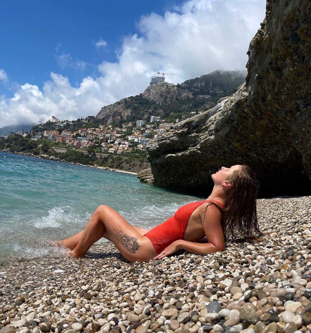 Еліна Світоліна часто знімається у купальниках