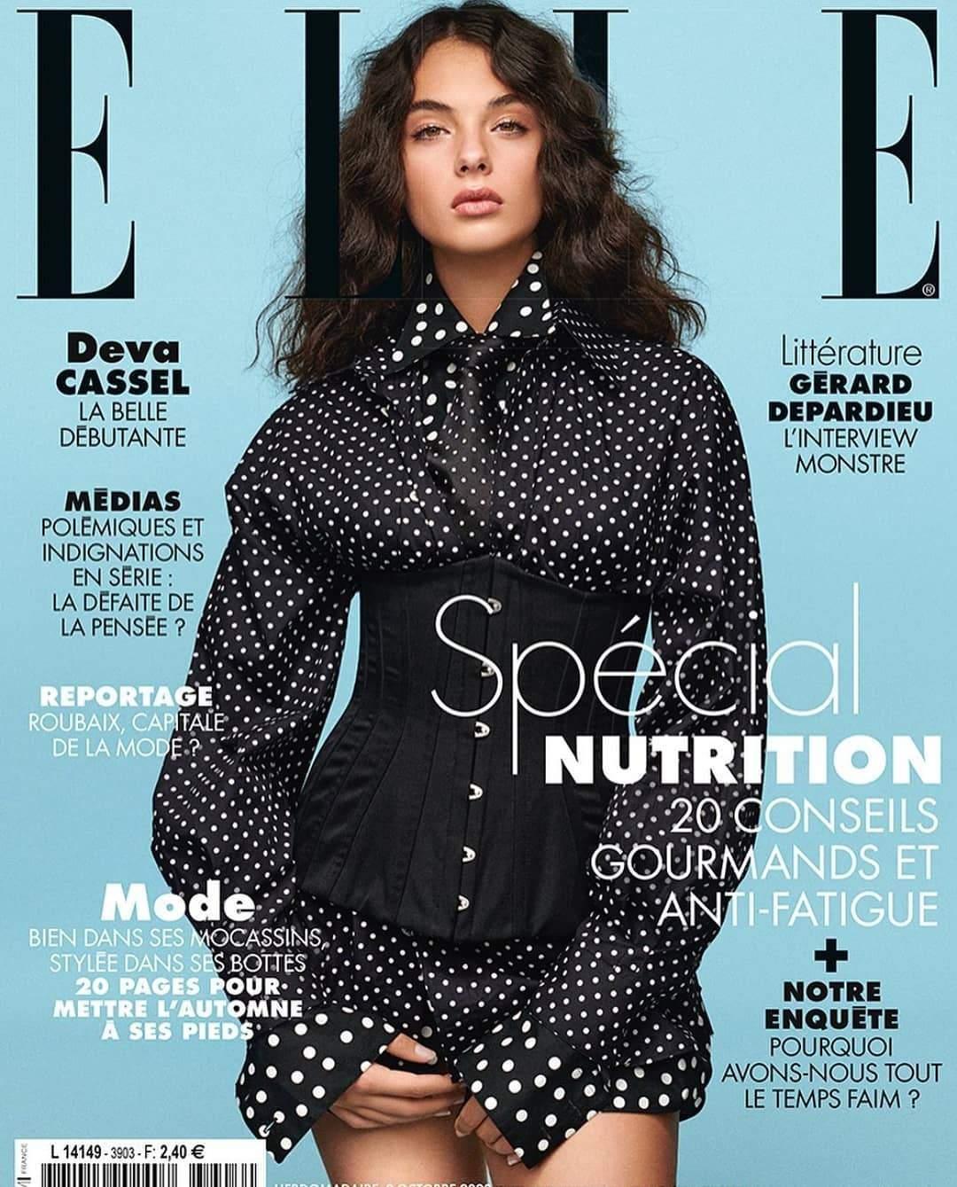 Донька Моніки Беллуччі Діва Кассель для Elle France