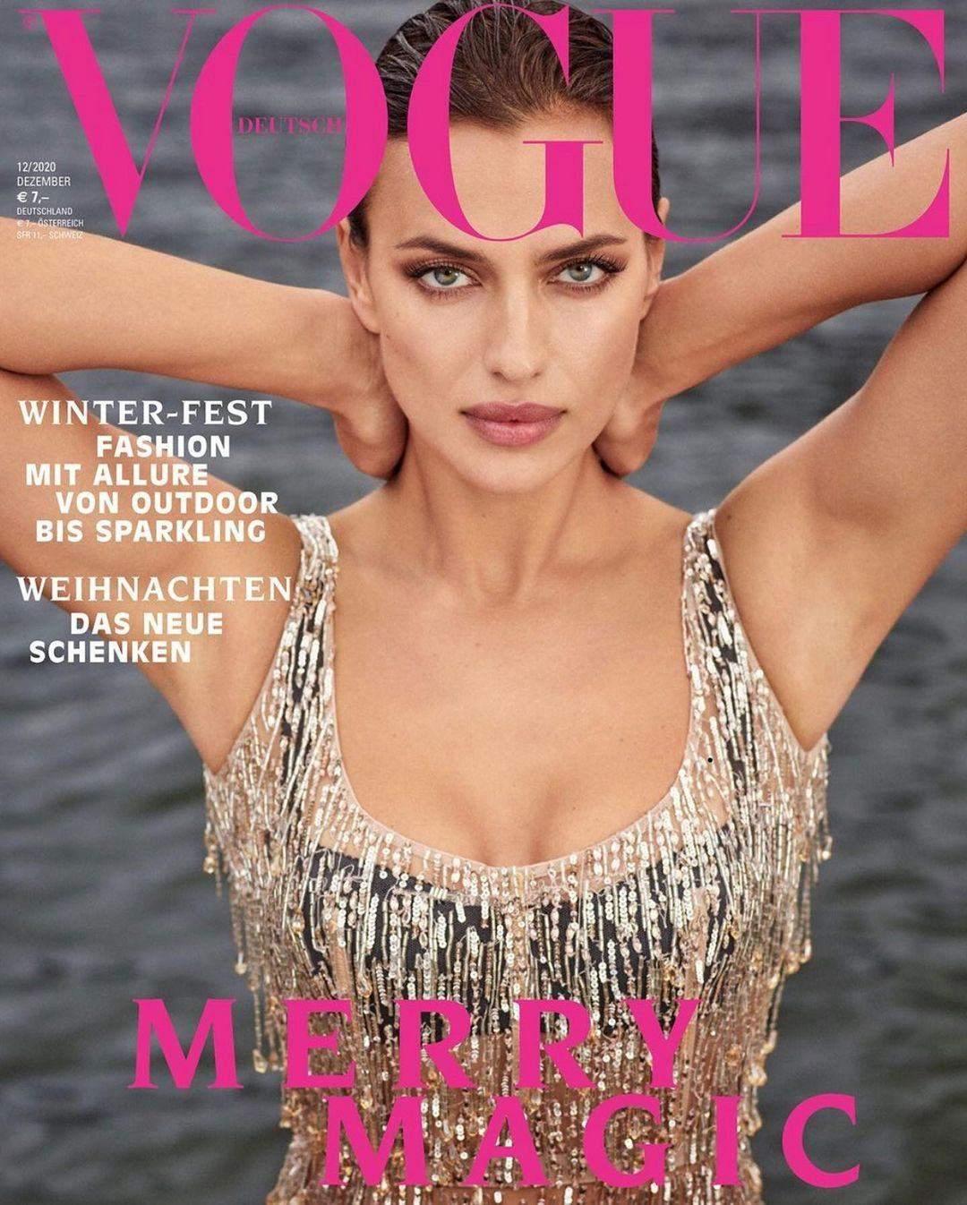 Ірина Шейк для обкладинки Vogue