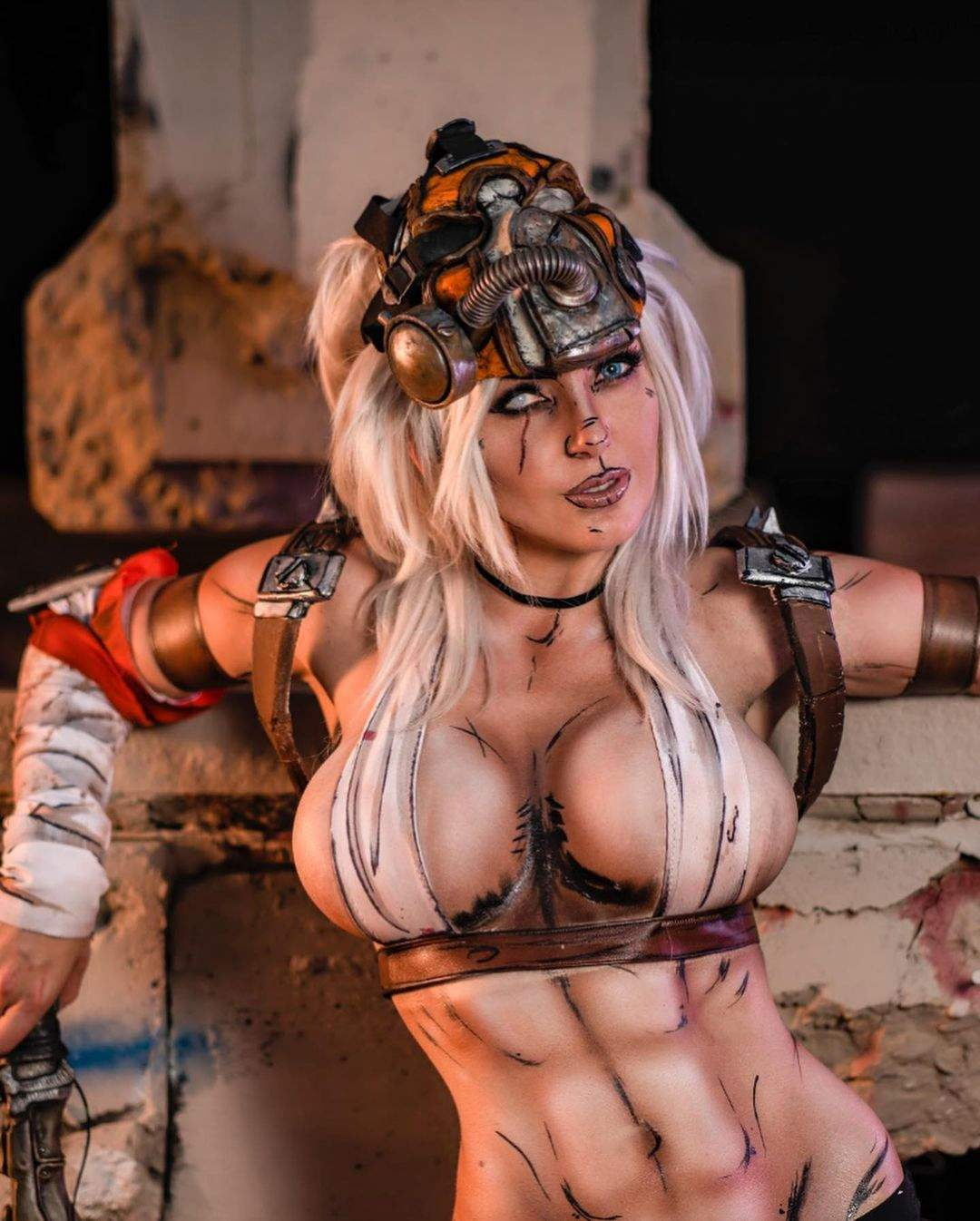 Спокуслива жіноча версія: американська модель показала косплей на Крига з Borderlands 2