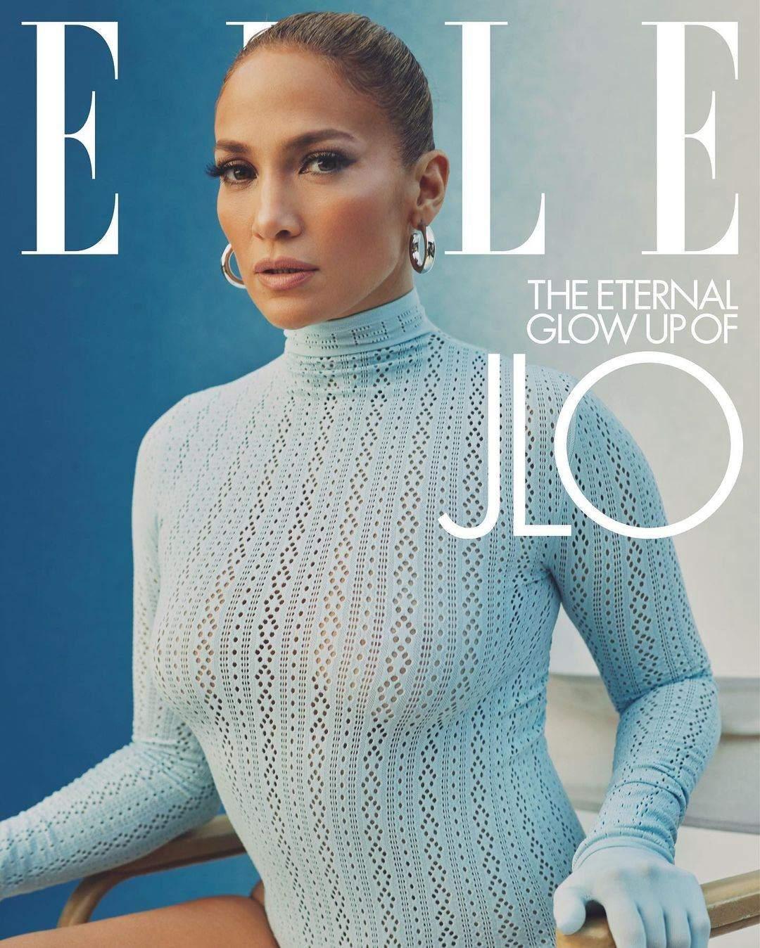 Дженніфер Лопес для Elle