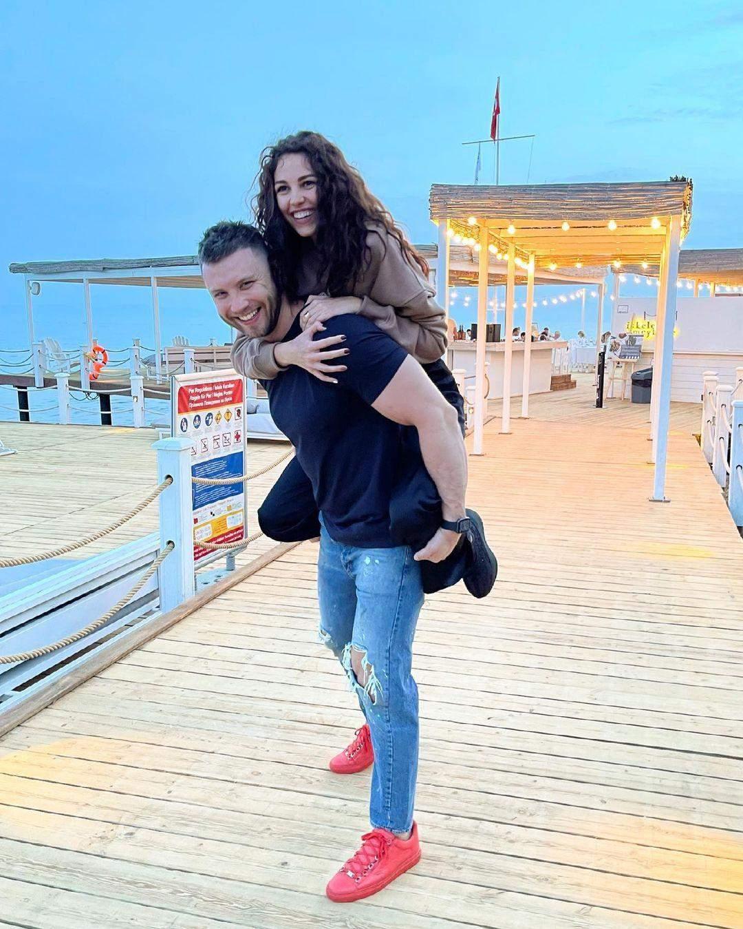 Михайло Заливако з Анею Богдан