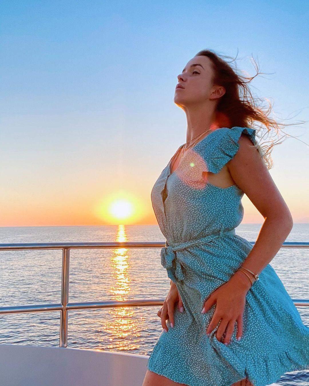 Світоліна віддає перевагу відпочинку біля моря