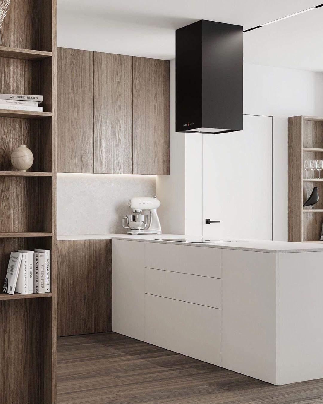 Мінімалістичний дизайн кухні