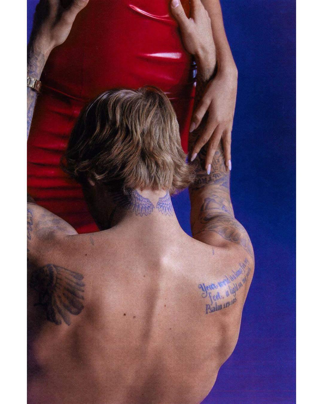 Джастін Бібер з дружиною Гейлі Болдвін для Vogue