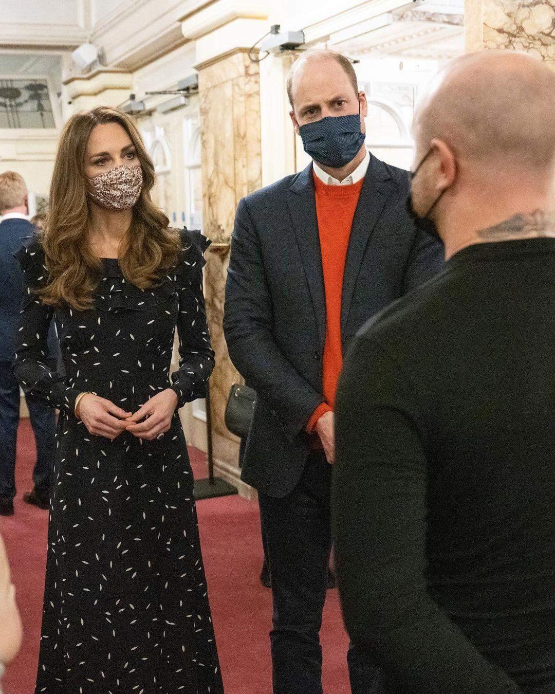 Кейт Міддлтон і принц Вільям на спектаклі