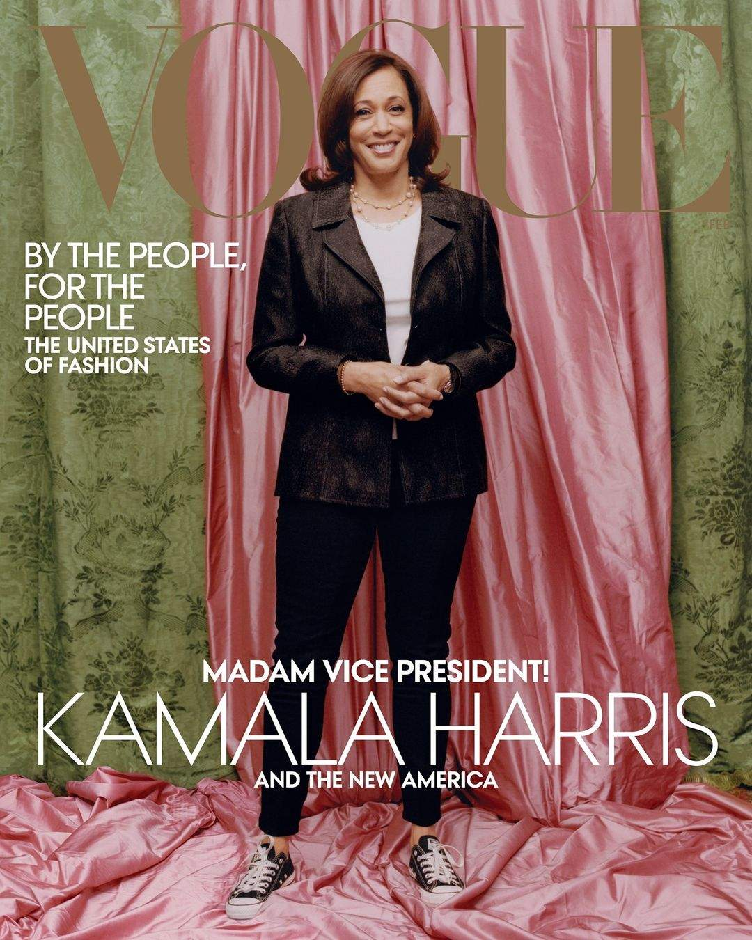 Камала Гарріс Vogue