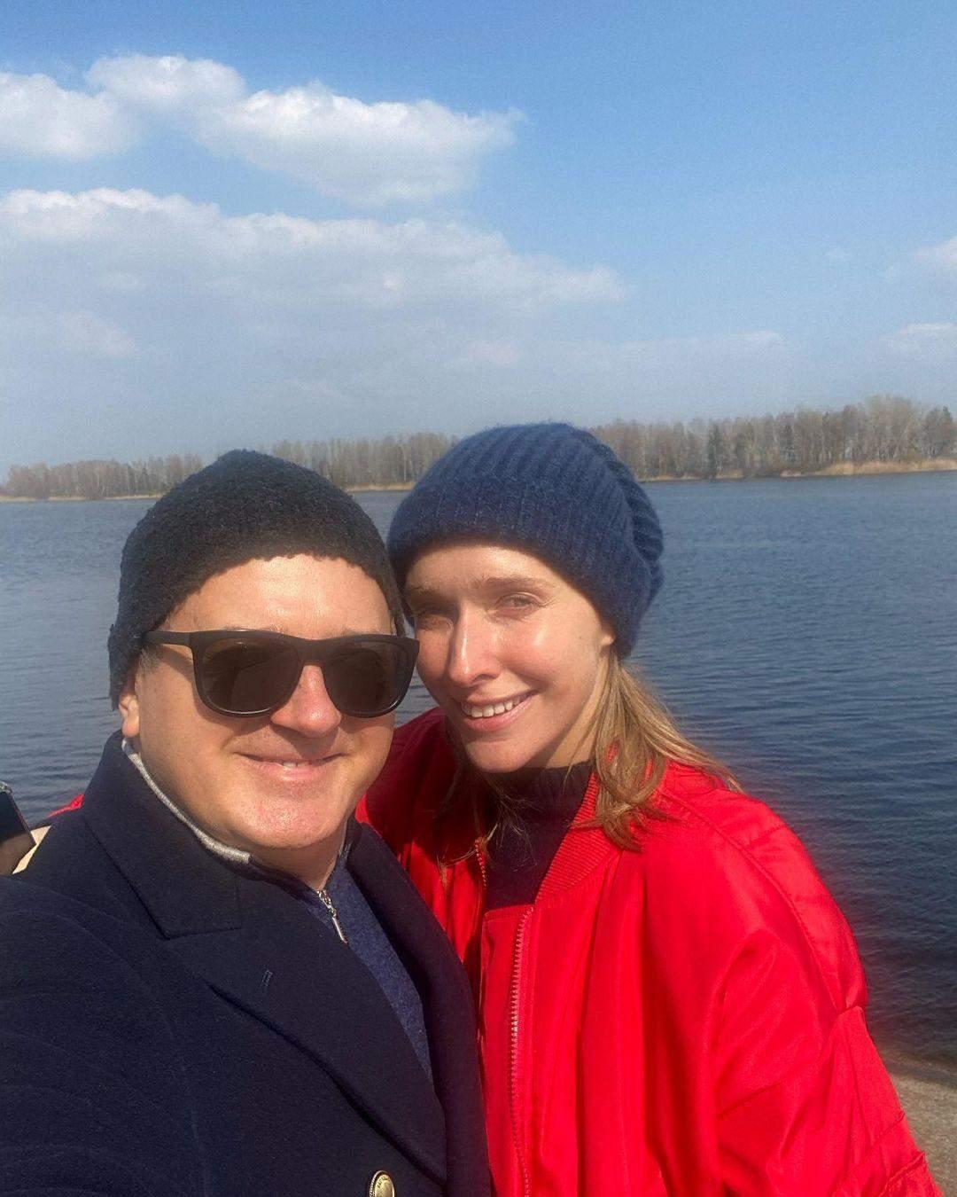 Катя Осадча з чоловіком Юрієм Горбуновим