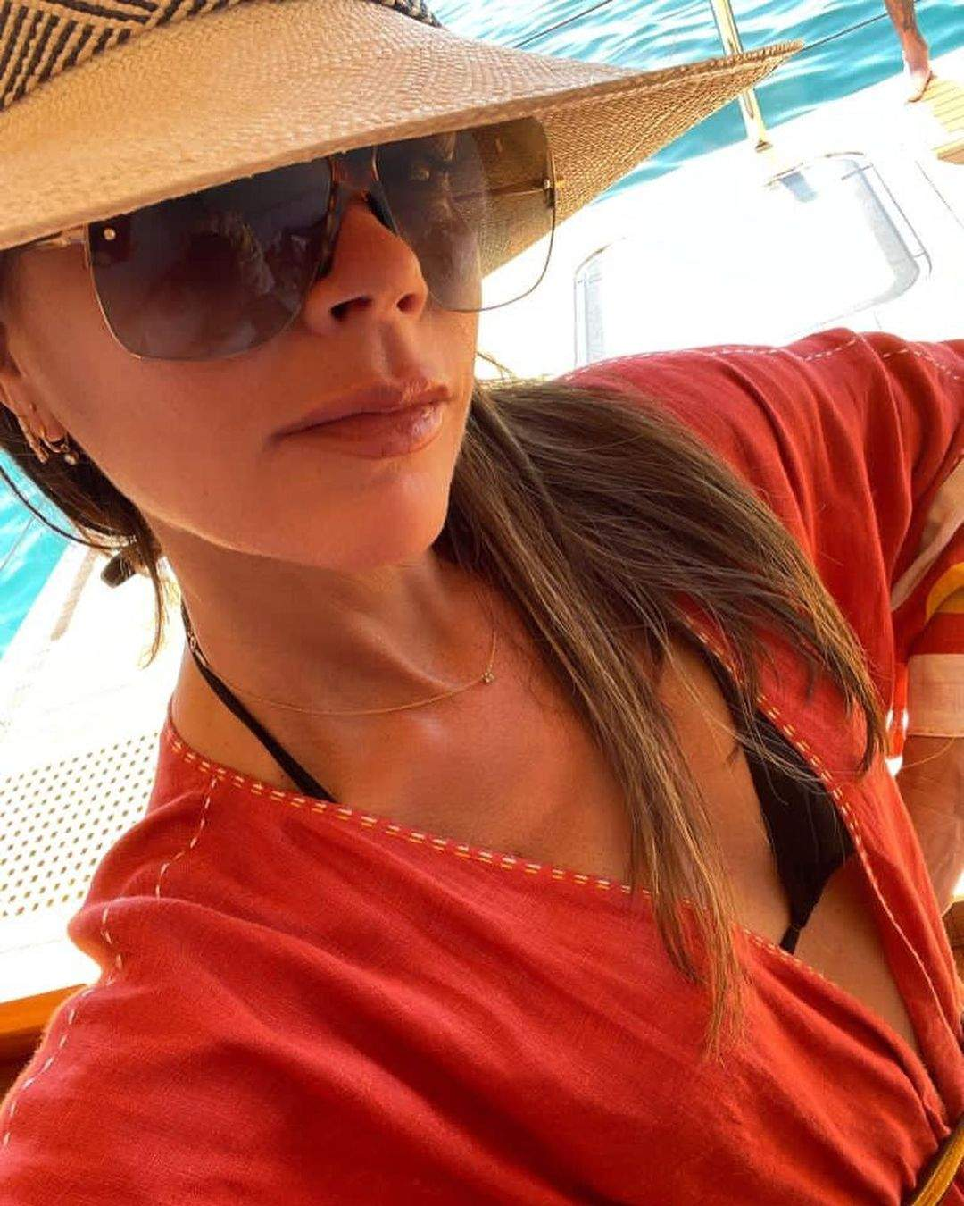 Вікторія Бекхем на відпочинку в Маямі