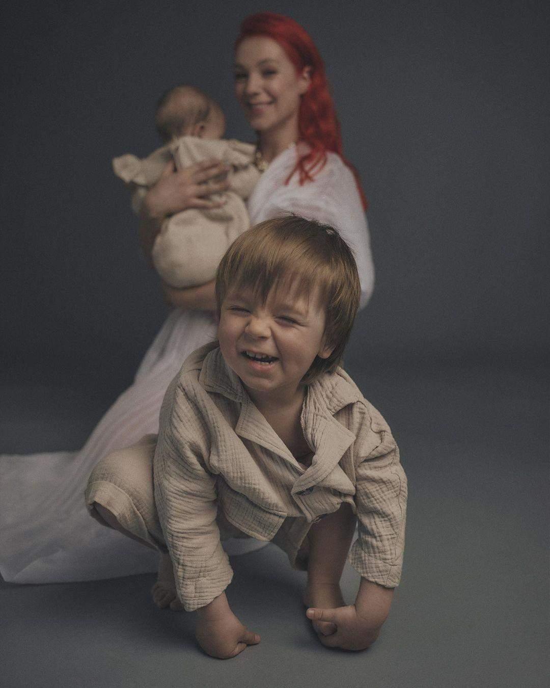 Світлана Тарабарова з донькою і сином