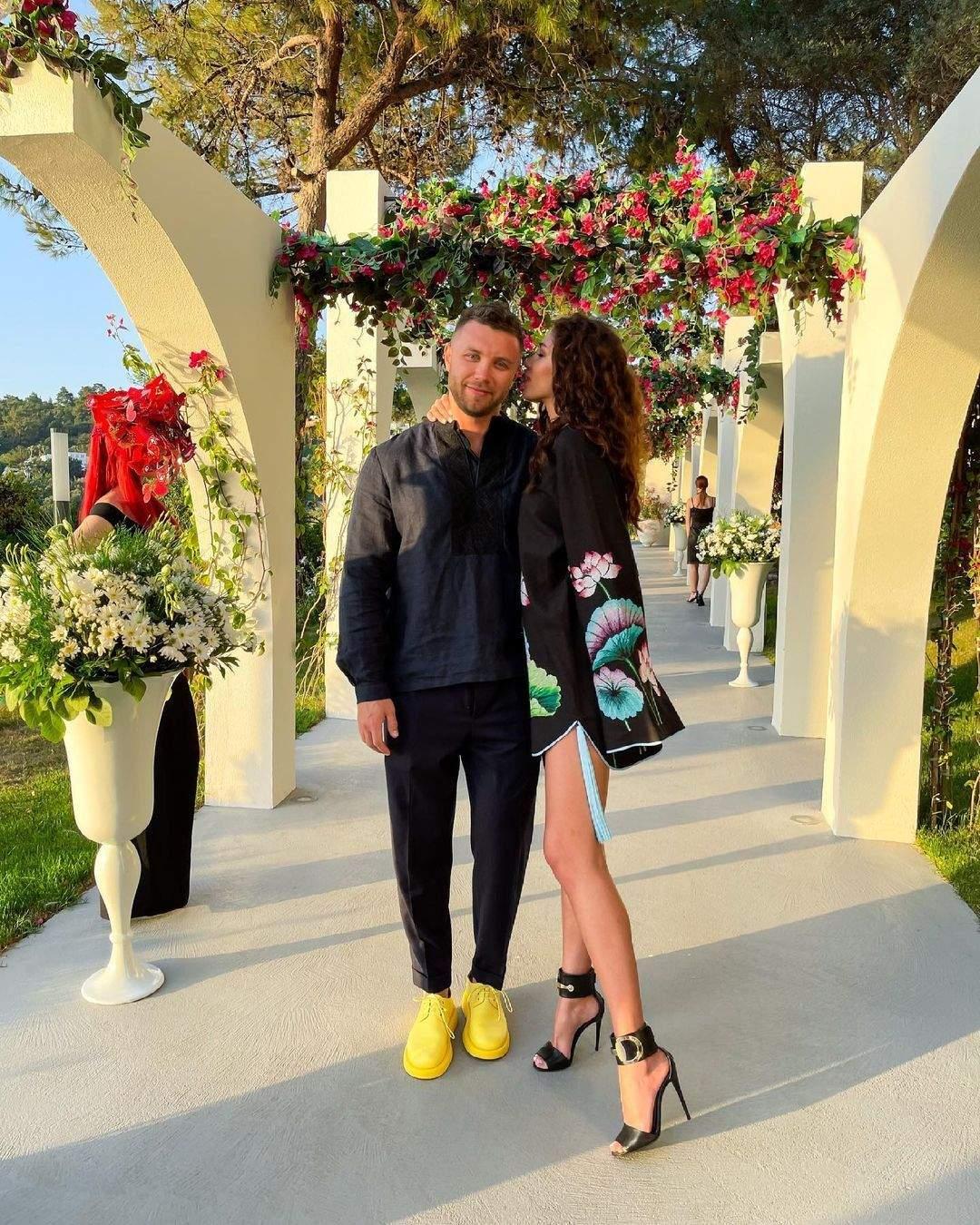 Михайло Заливако з Анею в Туреччині