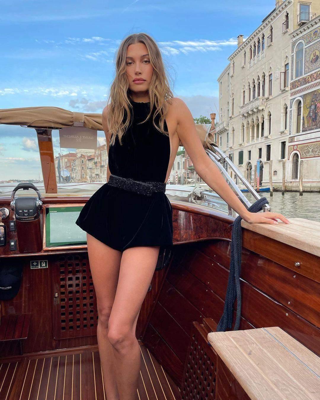 Образи Гейлі Бібер у Венеції