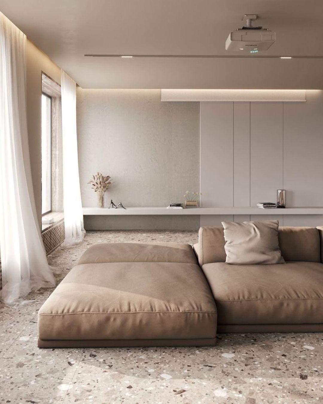 Як використати модульні дивани в вітальні
