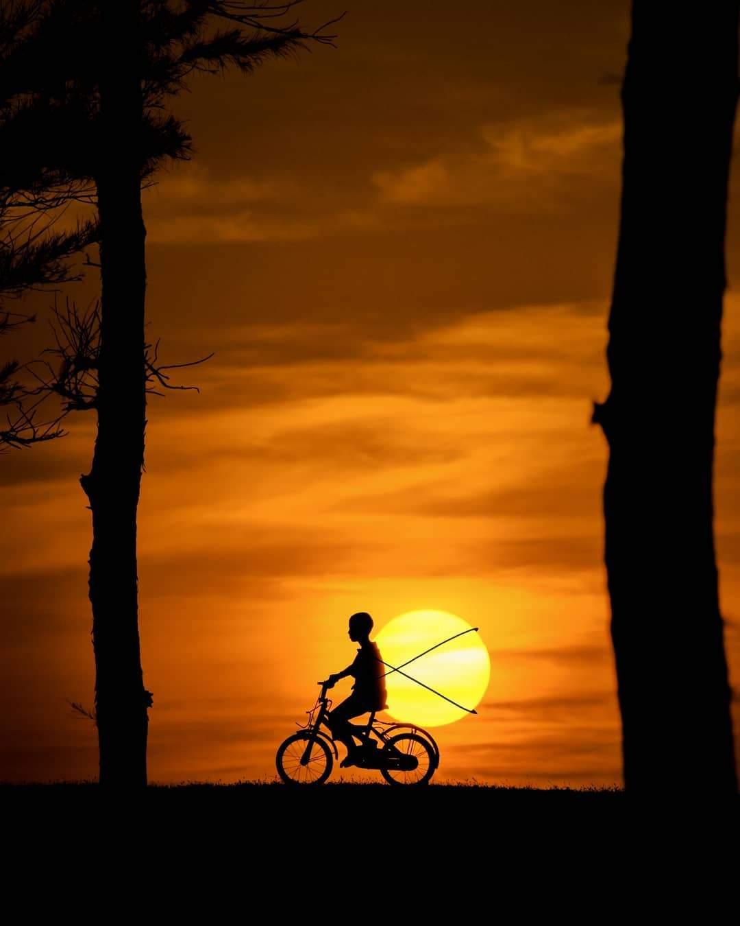 Интересные идеи для фото на закате