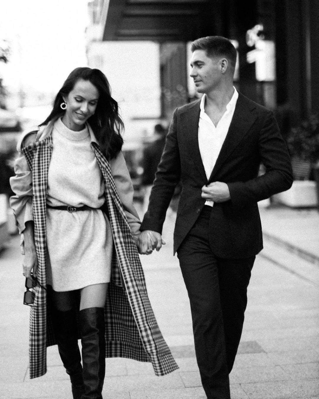 Володимир Остапчук з дружиною