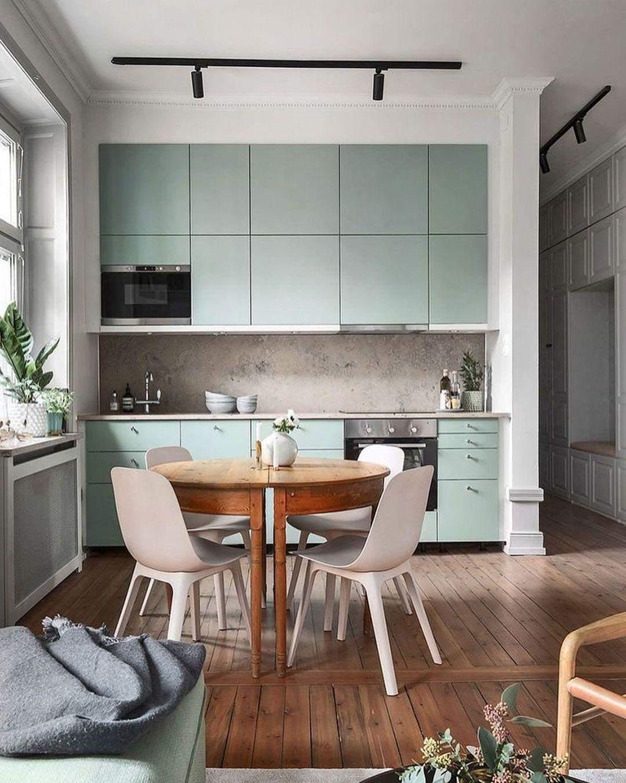 интерьер кухни-гостиной