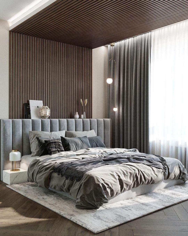 ліжко у спальні