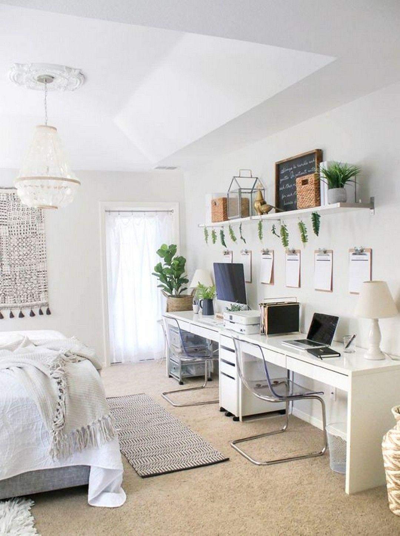 Домашній офіс в спальні: 15 компактних ідей для натхнення
