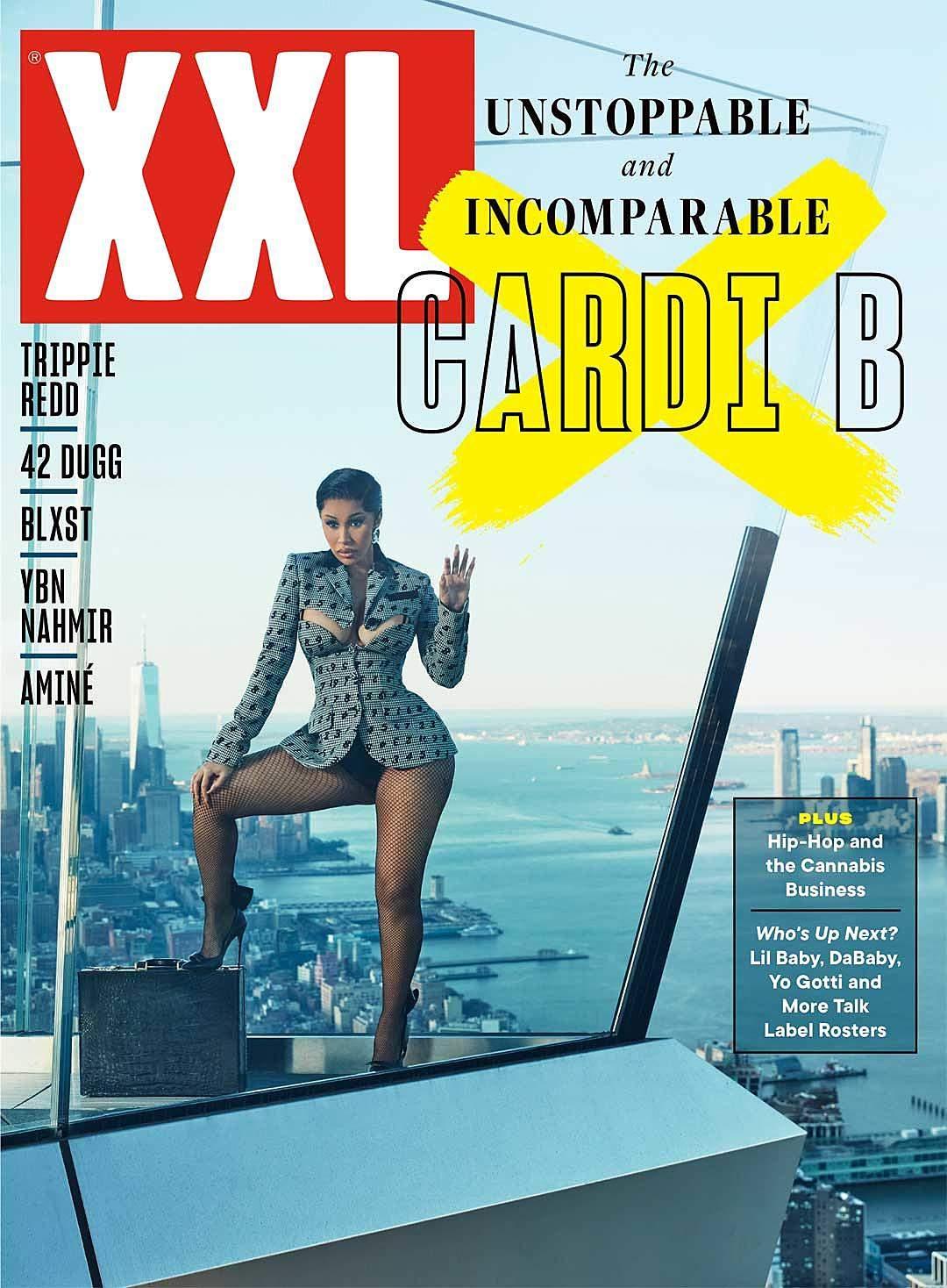 Cardi B на обкладинці XXL