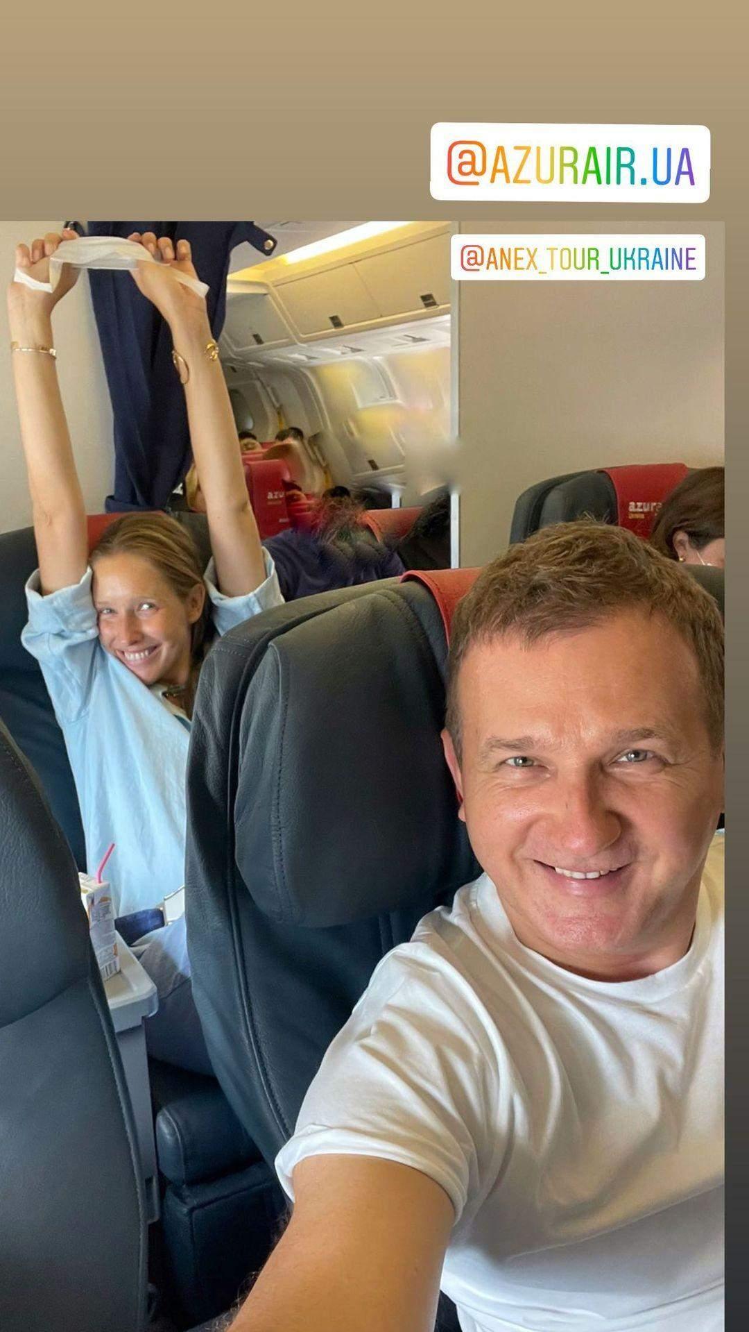 Юрій Горбунов з Катею Осадчою