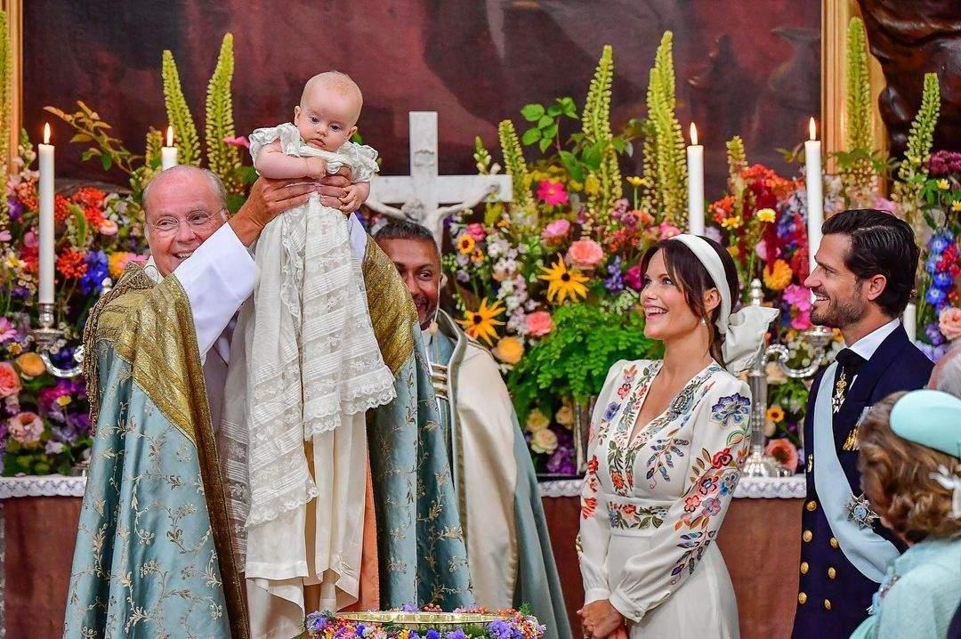 Хрещення сина Карла Філіпа і принцеси Софії