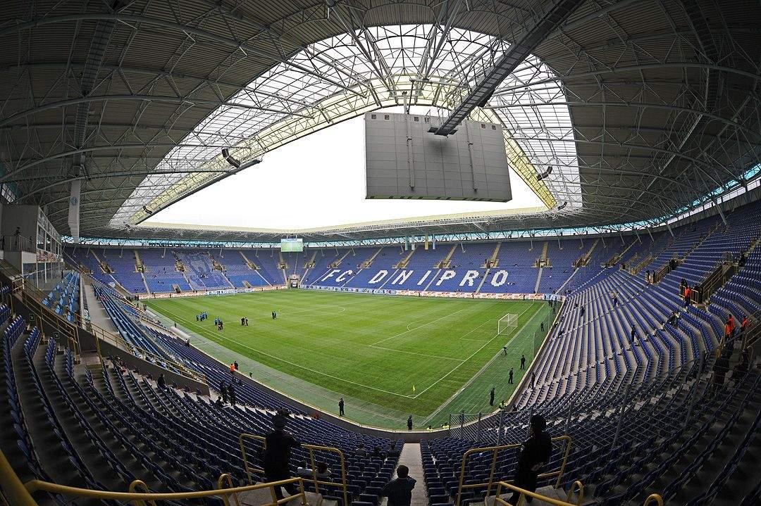 Стадіон Дніпро-Арена в Дніпрі, історія міста Дніпро, День Дніпра, факти про Дніпро, Незалежна Україна
