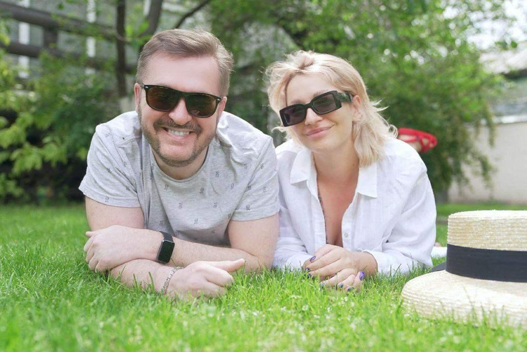 Олександр Пономарьов з донькою