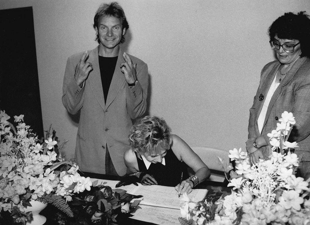 Весілля Стінга 28 років тому