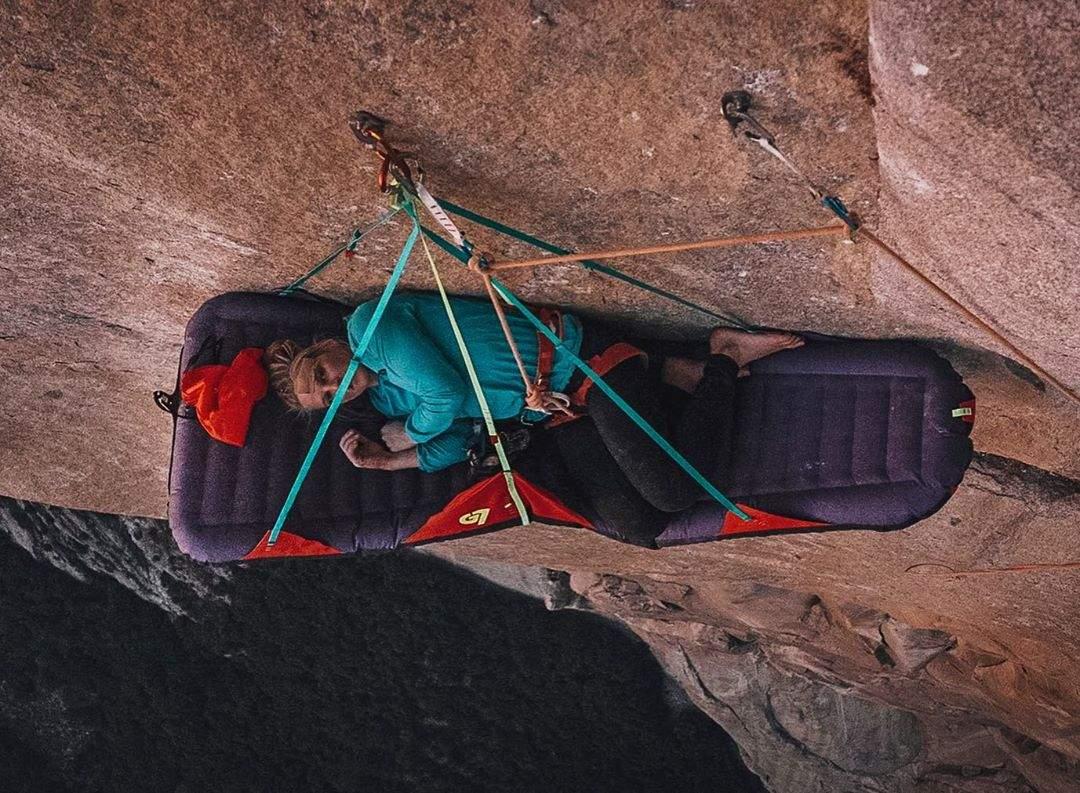 Відпочинок під час підкорення скелі