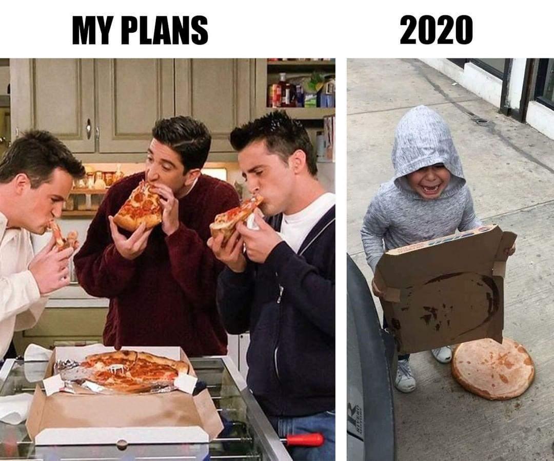 Курйозні картинки про 2020 рік