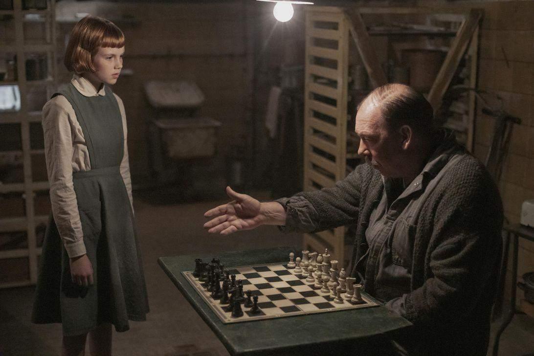 Елізабет Гармон навчилась грати в шахи у притулку для дітей