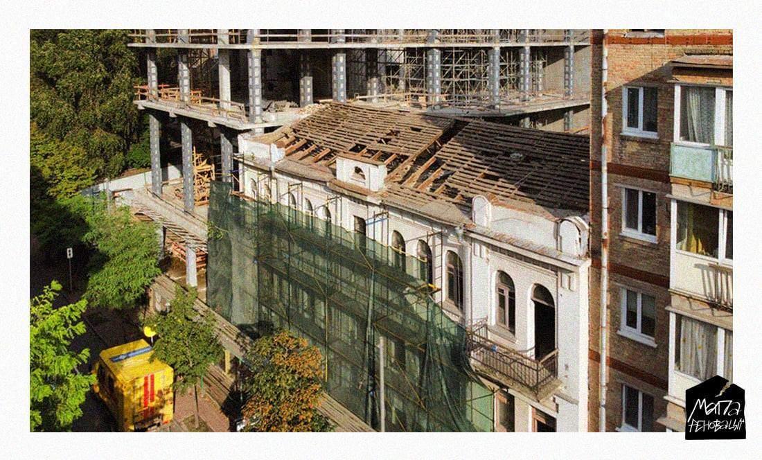 У Києві розбирають будівлю Осипа Родіна