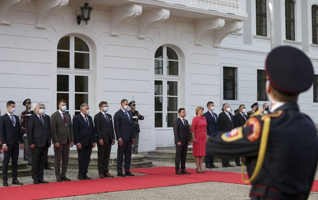 зустріч Зеленського та президентки Словаччини