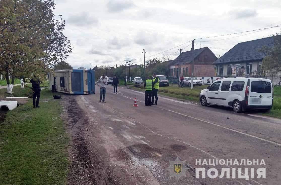 Автобус у Мирогощі