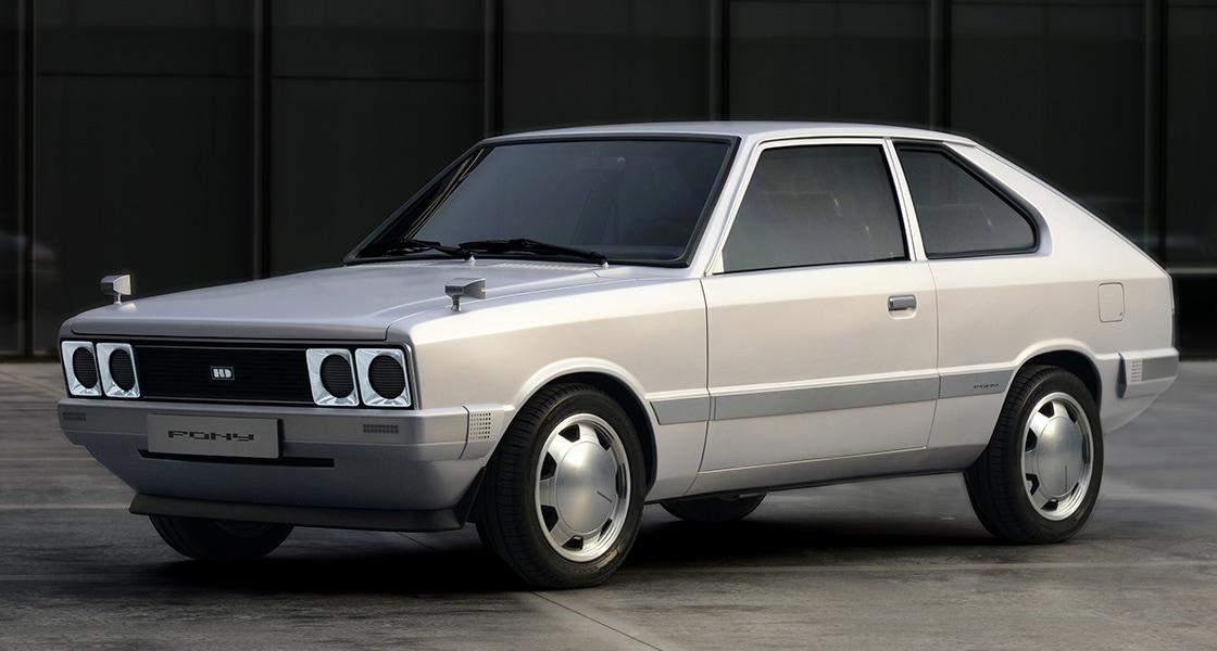 Heritage Series PONY – сучасна класика від корейського автовиробника