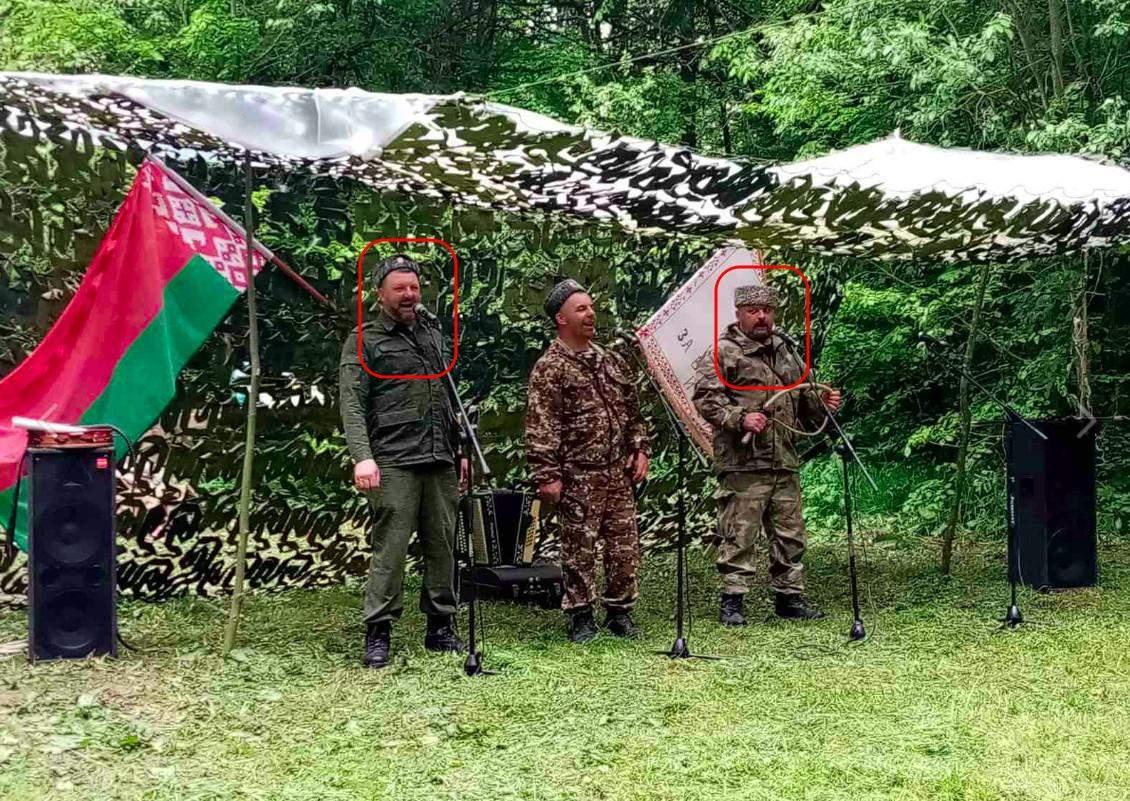 Збори проросійських загонів у Брестській області