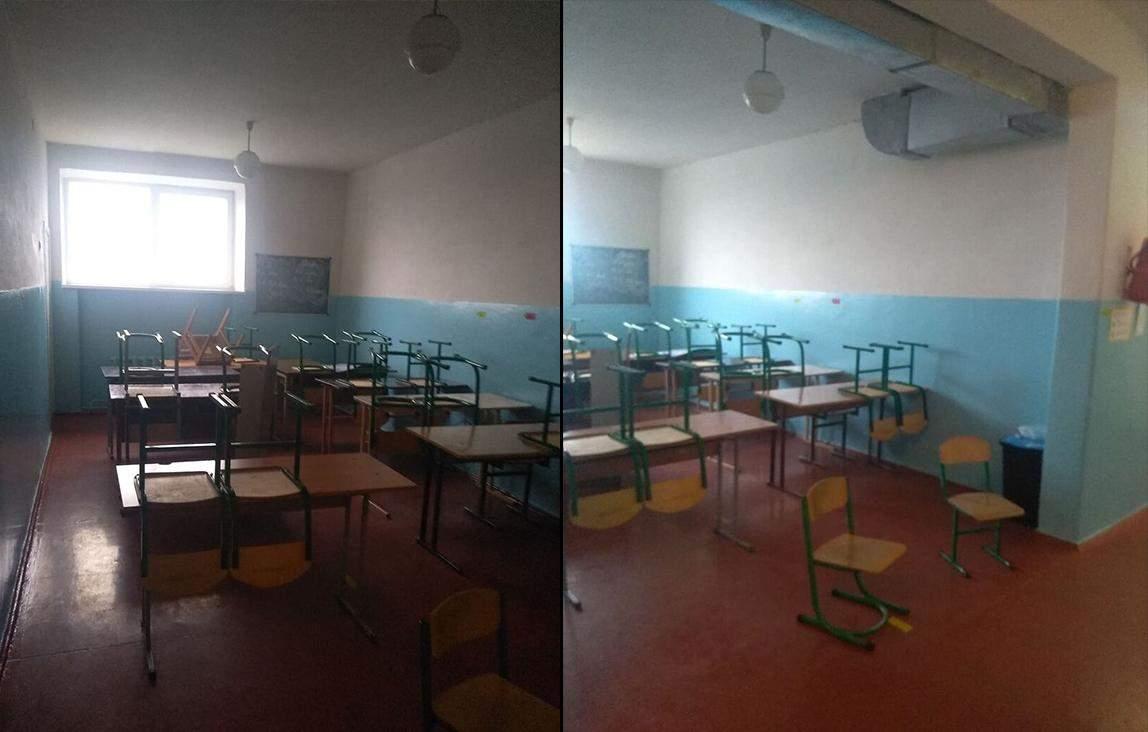 Класи в коридорі
