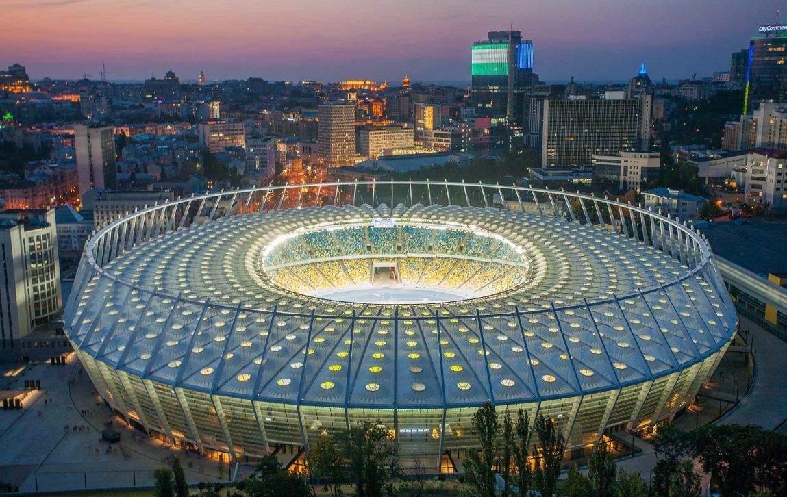 Сучасна арена Олімпійський,  Київ, 30 років Незалежності, як змінився Київ за 30 років