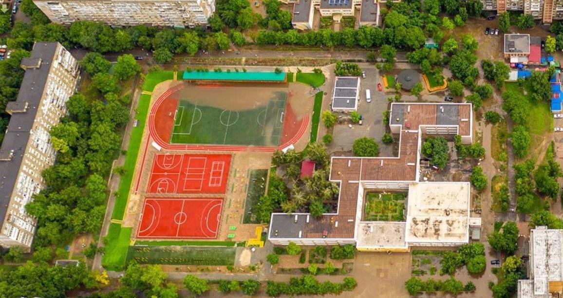 Фото стадіону від мера Южного
