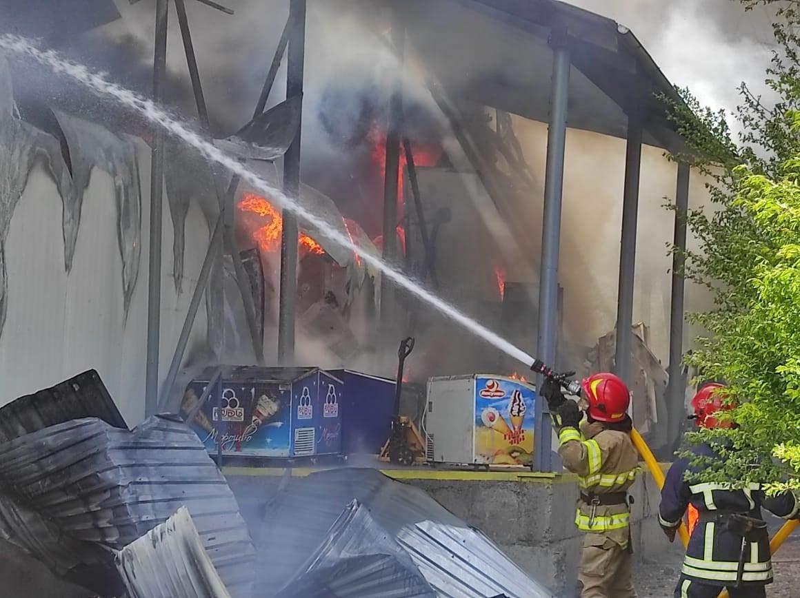 Пожежа у Івано-Франківську