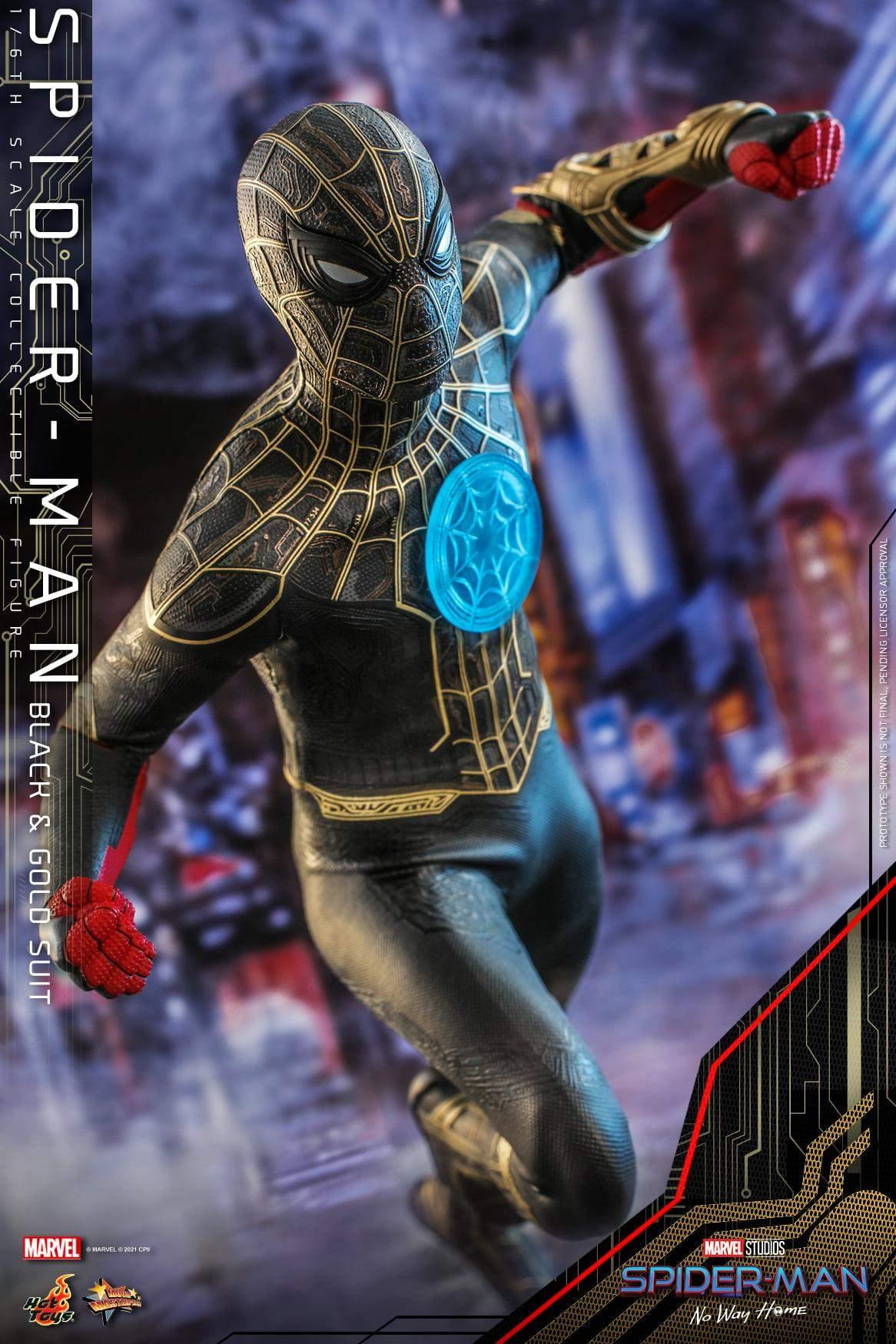 Hot Toys показала новий чорно-золотий костюм Людини-павука