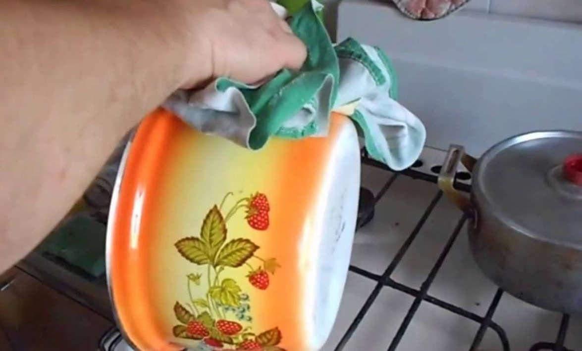 Чистка посуди