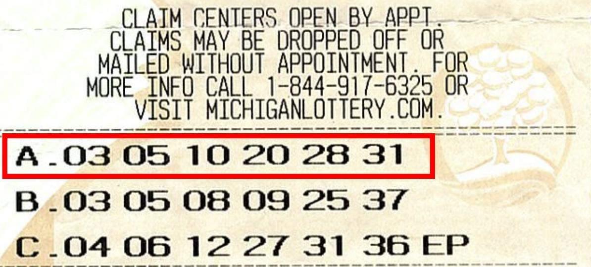 Лотерейный билет на 18 миллионов долларов