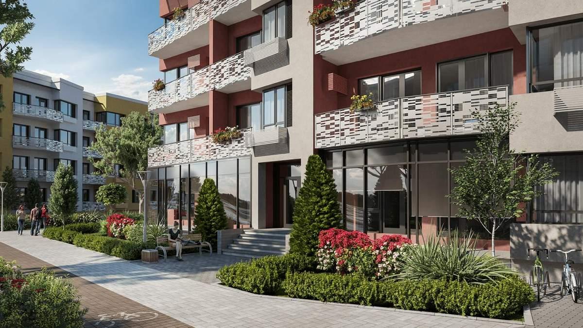 Итальянские традиции в украинском жилом комплексе