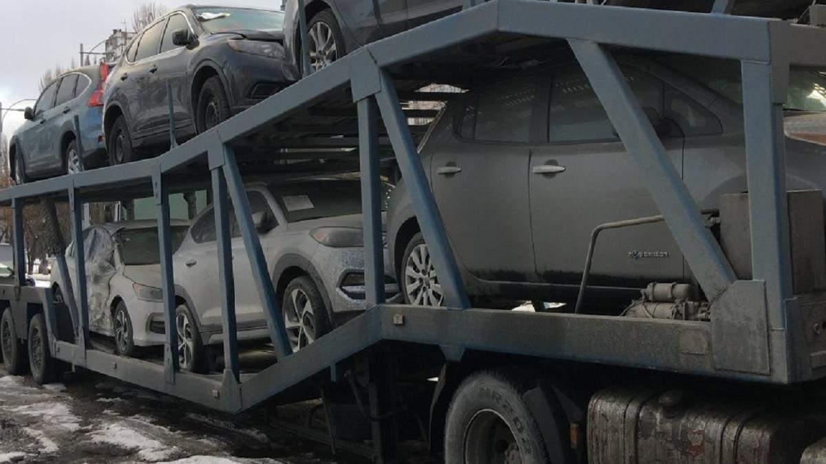 Авто з США – ризик покупки битої машини з США в Україні