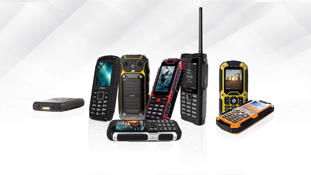 """""""Броньовані"""" телефони від Sigma Mobile"""