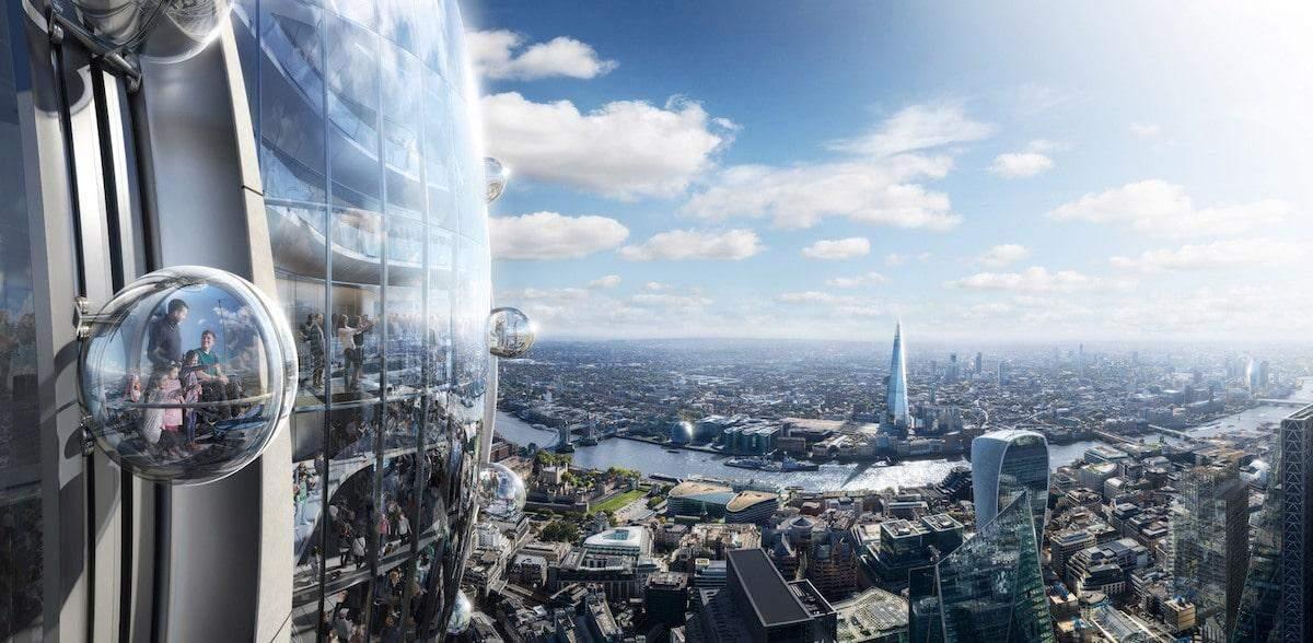 Із вежі відкривається чудесний пейзаж на Лондон  / Фото My modern met